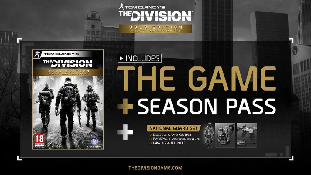 THE DIVISIONGold Edition