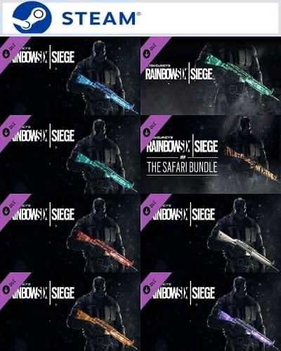 Rainbow Six Siege weapon skins Gemstone – Steam