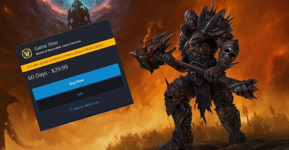 World of Warcraft: Subscription Game Time