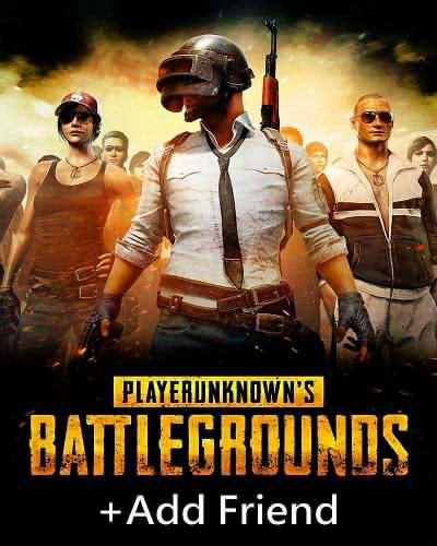 PUBG + Add Friend