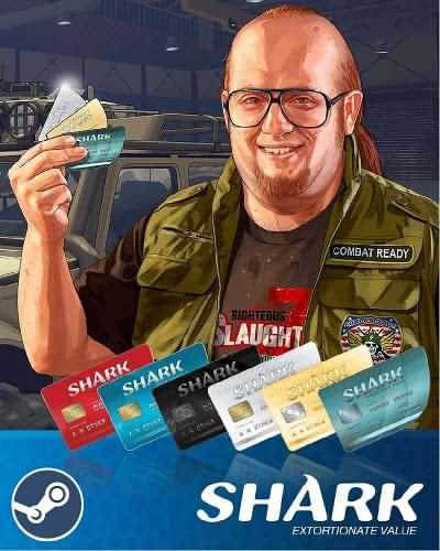 GTA V Shark Cash Cards Steam