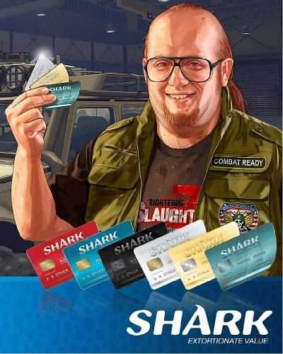 GTA V Shark Cash Cards Rockstor