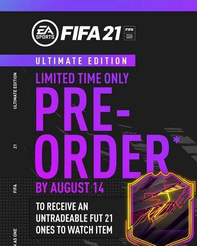 EA SPORTS FIFA 21 Ultimate Edition