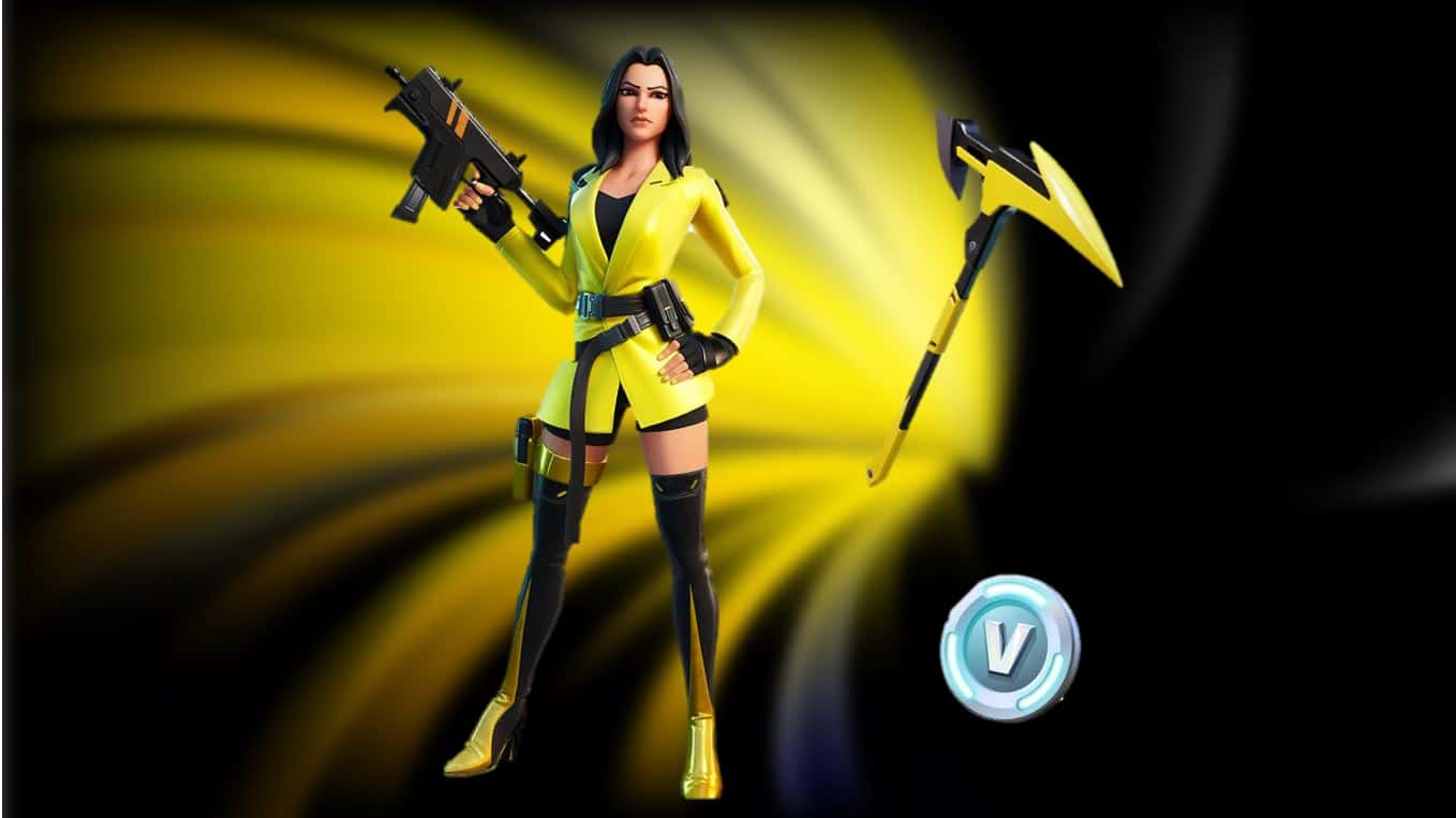 Fortnite yellow jacket pack
