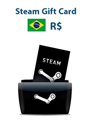 Steam Gift Card - Brazil