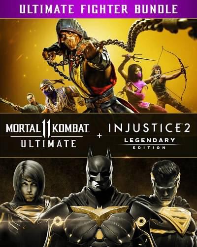 Mortal Kombat 11 Ultimate + Injustice 2 Legendary Edition Bundle
